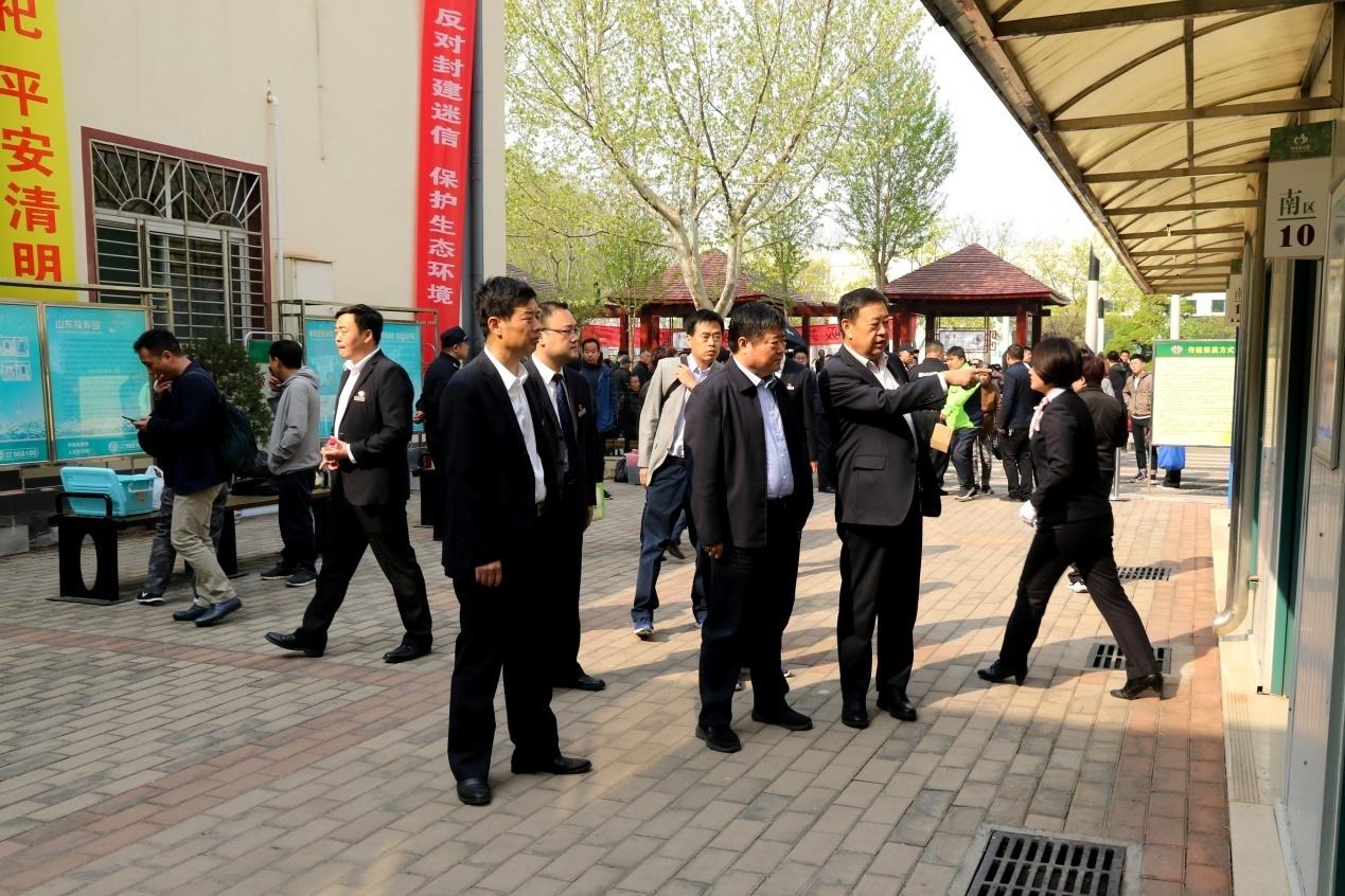 济南市殡仪馆顺利完成清明节接待服务工作
