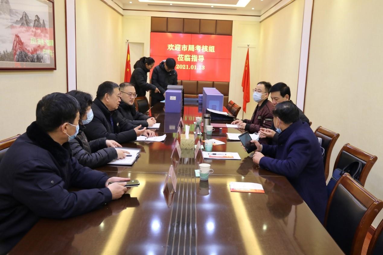 市局考核组到济南市殡仪馆开展2020年度考评工作
